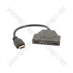 1:2 HDMI Splitter - x Mini - HD12M