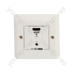 HDMI Over Network Cable Receiver Wallplate - HDREW