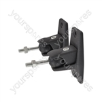 Universal speaker bracket black