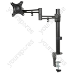 Single Monitor Desktop Mount with Extension Arm - DM211