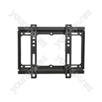 "Standard TV/monitor fixed wall bracket VESA 400x400 26"" - 50"""