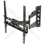 "Full Motion Double Arm TV Wall Bracket 32"" - 50"" - 30"" to - USC400"