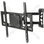 "Full Motion Double Arm TV Wall Bracket 26"" - 55"" - Mount. to - USC401"
