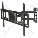 "Full Motion Cantilever TV Wall Bracket 32"" - 60"" - FM Mount VESA 600x400 - USC601"