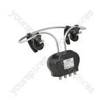 4G Ready Clamp On UHF Mixer Aerial - MAUHF-A24