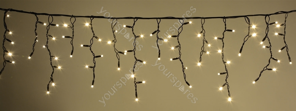Long Icicle String Lights : Heavy Duty LED Icicle String Lights - WW 155.431UK by Lyyt
