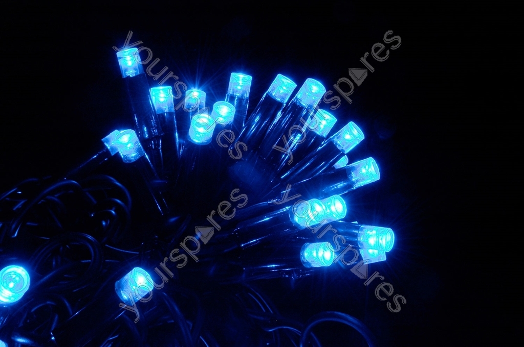 Qtx Heavy Duty Led String Lights : Heavy Duty LED String Lights - 180 static - Blue 155.480UK by Lyyt
