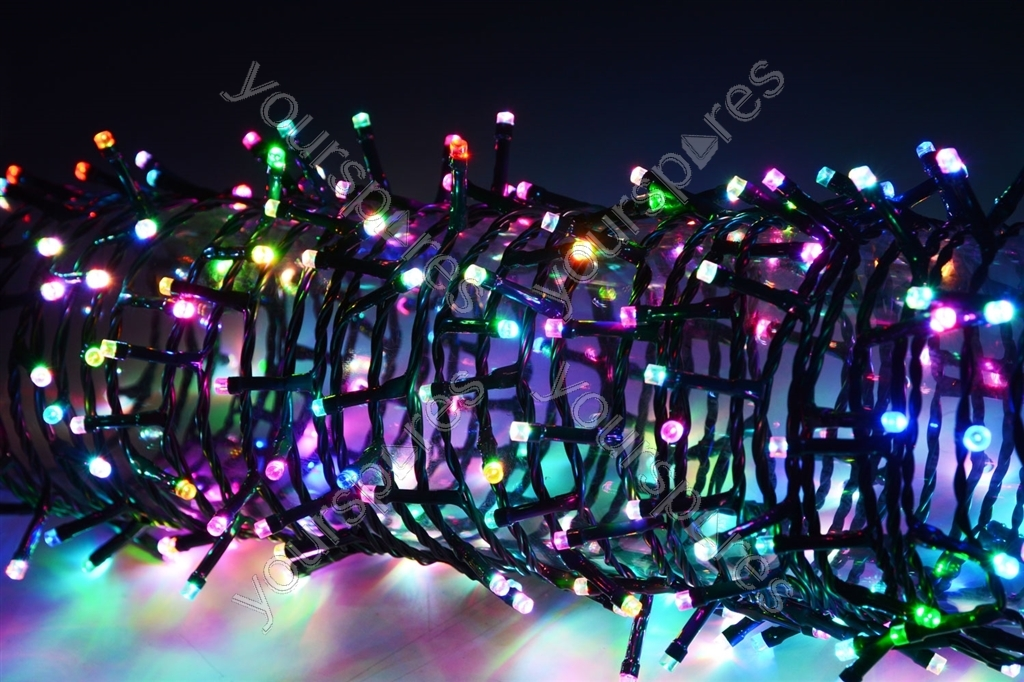Led String Lights For Cars : LED String Lights with Auto-timer Control - 100 RGBY - LSL100-RGBY 155.581UK by Lyyt