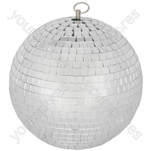 Mirrorball, plain glass, 30cmØ