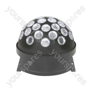 LED Fireball Party Light - disco (white) - FB-1