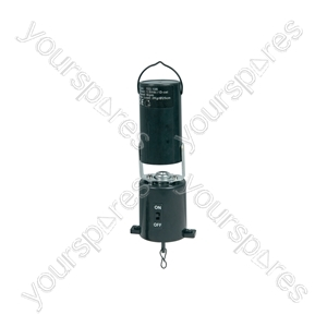 Mirror ball motor, battery powered, plastic case