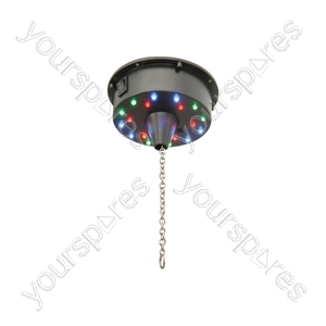 Battery Operated LED Mirror Ball Motor - MBM-101
