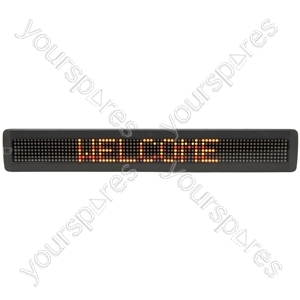 LED Moving Message Displays - 7 x 80 Multi colour - MM780T-UK