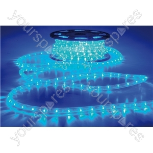 LED Rope Light, Blue, 50m