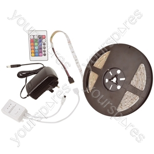 LED tape 5m - Multi-colour RGB