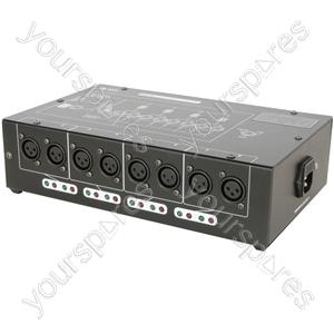 8 Way DMX Booster/Distributor - DMX-D8