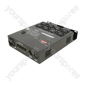 RP4 4 Channel DMX Relay pack