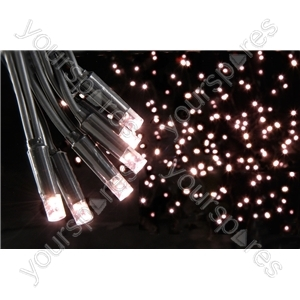 Heavy Duty LED String Lights with Controller - 90 outdoor - Warm white