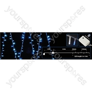 (UK version) 200 LEDs string light - Blue+White