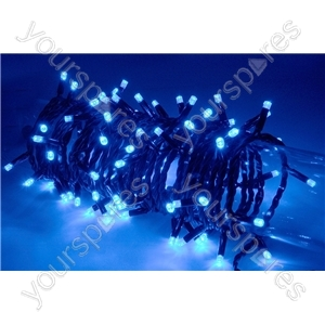 Heavy Duty LED String Lights with Controller - 180 outdoor - Blue