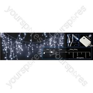 240 LEDs string icicle light - Blue & White