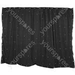 LED Starcloths - 1 x 2m Black with 36 RGB LEDs - SCM2