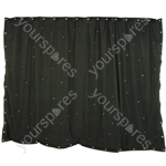 LED Starcloths - 3 x 2m Black with 96 RGB LEDs - SCM6