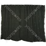 LED Starcloths - 3 x 2m Black with 96 RGB LEDs - SCM6