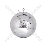 Professional mirror ball 7mm x 7mm tiles - 30cmØ
