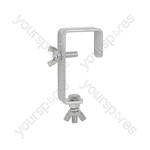 Mounting Hook for Light Effects - - Silver version
