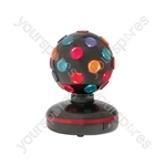 (UK version) Rotating Disco Ball, 5 Colours, Free Standing