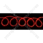 (UK version) LED Rope light set - 10m, Multicolour