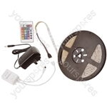 IP68 DIY LED Tape - 5m Multi-colour RGB - kit - DIYH-RGB30