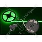 5m DIY LED tape kit - single colour IP65 - Green - DIY-G60