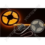 5m DIY LED tape kit - single colour IP65 - Amber - DIY-A60