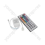 RGB Tape Controller with 44 Key IR Remote - multi function - LTC44IR