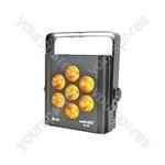 SL-H7 - 7 x 6-in-1 12W LED High Power Wash Light - RGBWAV smart
