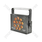 12 x 6-in-1 12W LED High Power Wash Light - SL-H12 RGBWAV smart