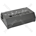 4 Way DMX Booster/Distributor - DMX-D4