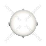 Weatherproof LED Bulkhead Lights - Round 12W - NW - BH12F-NW