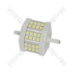 LED floodlight lamp, 78mm, 4.8W 3000K