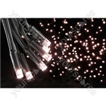 Heavy Duty LED String Lights - 90 static - Warm White
