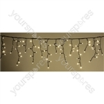Heavy Duty LED Icicle String Lights with Control - WW