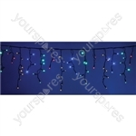 Heavy Duty LED Icicle String Lights with Control - MC