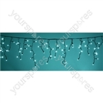 Heavy Duty LED Icicle String Lights with Control - CY