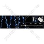 (UK version) 200 LEDs string light - Blue+White