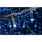 Heavy Duty LED String Lights - 90 static - Blue