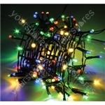 LED String Lights with Auto-timer Control - 200 MC