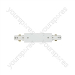 LED track lights - straight connector white