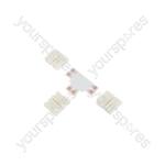 Professional LED Tape Connectors - 10mm single colour - pack 5 - SC10-T